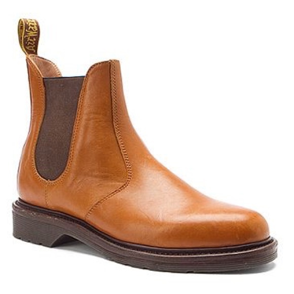 6fbfd6043c70 Laura Tan Dr. Marten Chelsea Boots